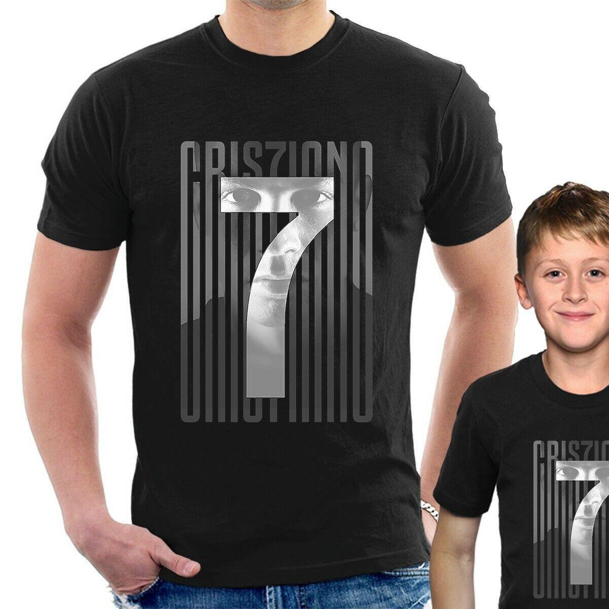 CRISTIANO RONALDO KIDS FOOTBALL LEGEND T SHIRT MADRID BOYS GIRLS CASUAL T33