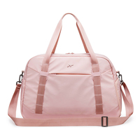 New Pink Gym Sport Bag Women Outdoor Travel Bags Training Fitness Dry Wet Bag Handbag Yoga Mat Men Shoulder