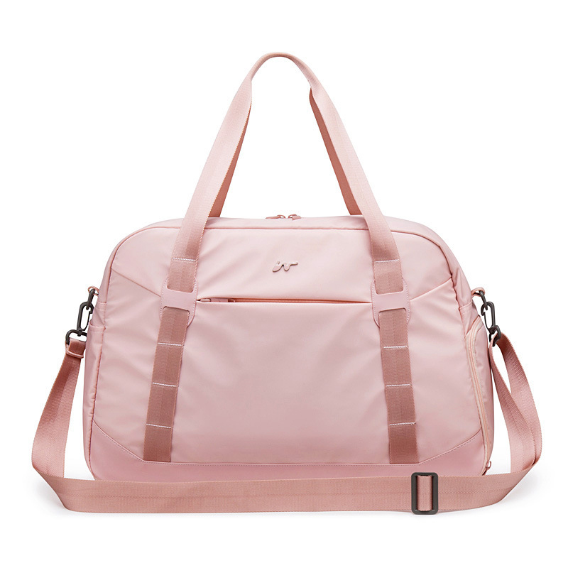 Pink Crossbody Shoulder Handbag Gym Sport Bag Men For Gym Women Fitness Bag Travel Training Bags Yoga Mat Bag Sac De Sport