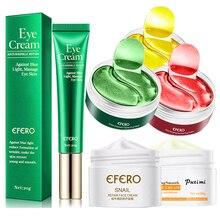 Anti-Wrinkle Anti Aging Crystal Collagen Eye Mask Gel Patch Moisturizing Eye Cream Essence Whitening Cream for Face Skin Care