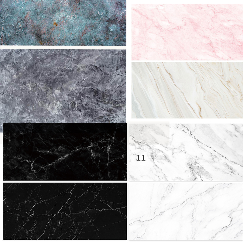 Marble PVC Background 58X86cm 2sides Marble Printing Backdrops Waterproof Photography Backdrop for Photo Studio Camera Photo