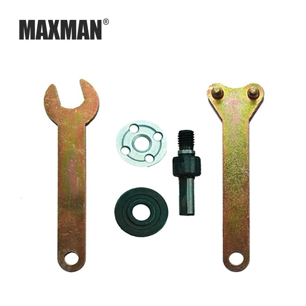 MAXMAN6MM/10MM Electric Drill Variable Angle Grinder Connecting Rod Converter Set Bit Conversion Angle Grinding Accessories Tool