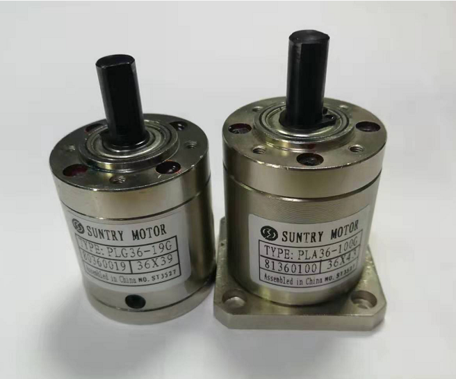 3.71:1/5.18:1 Planetary Reducer PLG36 Planet Gear 36mm Diameter Gearbox Round Flange Square Flange Input 3.175mm