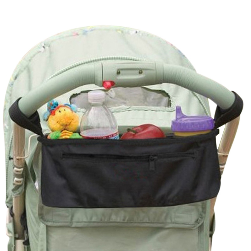 Baby Stroller Organizer Cart Bottle Bags Cooler And Thermal Bags For Mum Hanging Carriage Pram Buggy Stroller Accessories