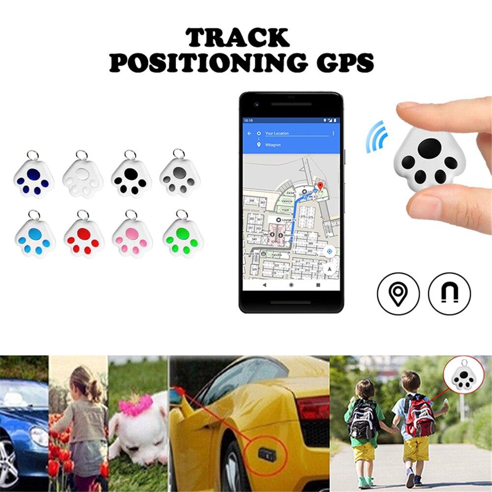 Мини Smart GPS трекер ключ Finder Беспроводной Bluetooth Анти-потерянный сигнал тревоги Сенсор навигацией прибор для детей домашних животных кошка мот...