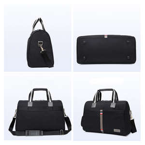Image 2 - 2020 wodoodporna męska torba podróżna składane torby na ramię kobiety moda bagaż podróżny torba podróżna o dużej pojemności