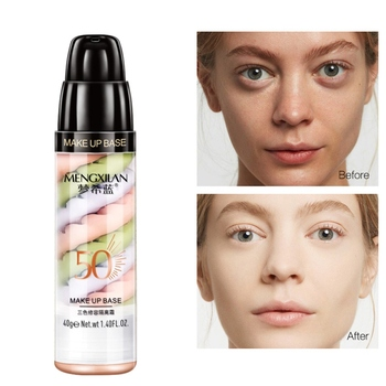 NEW Mixed Isolation Lotion Fill Pores Brightening Skin Foundation Primer Base Makeup Concealer Liquid RECOMMEND limoni skin liquid concealer