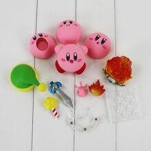 Kirby bonito sonho terra popopo #544 anime figura kawaii brinquedos para crianças boneca coleção ação estatueta kirby modelo brinquedos figma