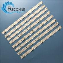 LED bande de Rétro Éclairage 5 lampe pour 40E6000 40E3000 40E3500 40E3500 5800 W40000 3P00 2P00 1P00 VER0.0