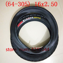 Free shipping 16x2.50 (65 305) tire and inner tube Fits Electric Bikes (e bikes), Kids Bikes, Small BMX and Scooters 16x2.5 tyre
