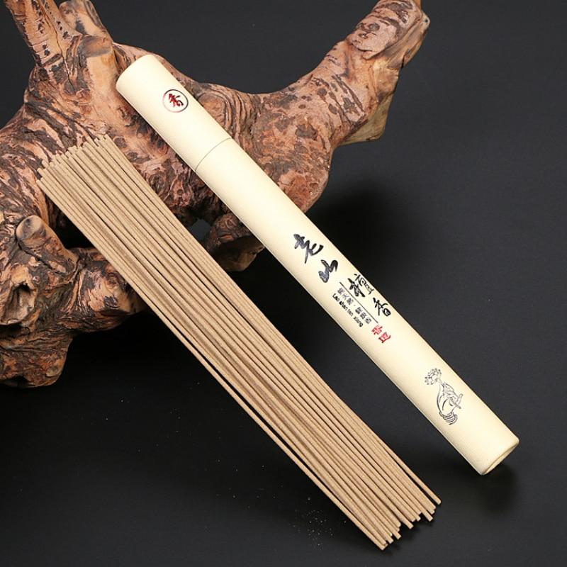 40 шт./кор. натурального сандалового дерева Ладан Летний сон дома 21 см Ладан палка аромат Крытый церемонии Будды Ладан