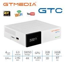 Gtmedia gtc android 60 tv box dvb s/s2/t/t2/кабель для спутникового