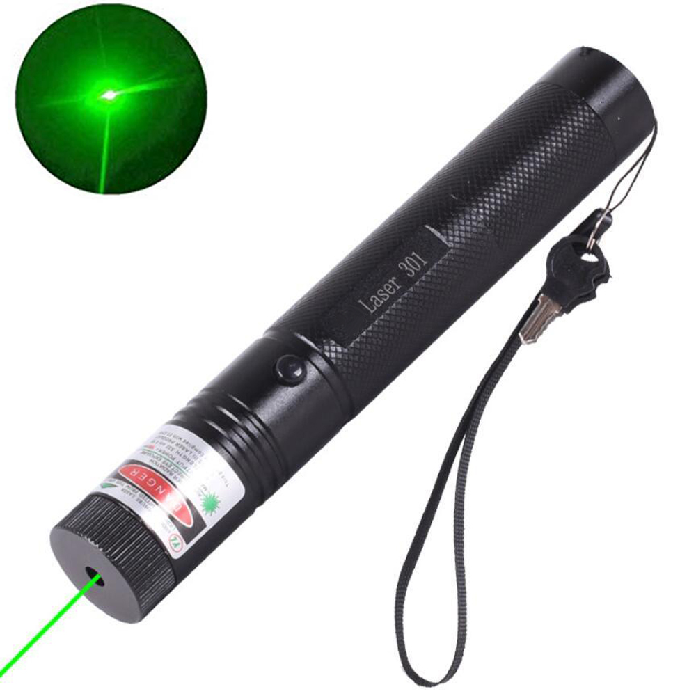 Hight Powerful Lasers 301 Hunting Green Laser Pointer 10000 M 5mw Lasers Sight Lazer Pen