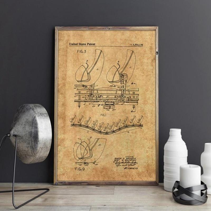 Haunted Mansion Doombuggy Omnimover patent, arte de pared, para carteles de Disneys, decoración de habitación, estampado vintage, blueprint, decoraciones de pared