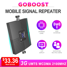 3G Cellular Signal Repeater UMTS 2100MHZ Network Cellphones Booster Signal Band1 WCDMA HSPA 3G Amplifier LCD Display Internet # все цены
