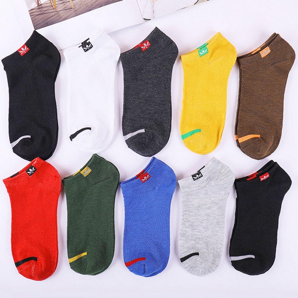 Men Ankle Socks For Men's Ultra-thin Elastic Short Socks Little Pineapple Print Summer Casual Short Socks Male Sock Slippers