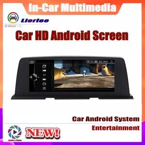 Image 4 - 6 Core نظام أندرويد تحديث نظام تحديد المواقع سيارة لسيارات BMW 6 Series F12 2013 ~ 2017 Autoradio الملاحة سيارة الوسائط المتعددة