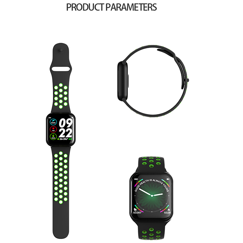 F9 smart watch IP67 waterproof smartwatch heart rate monitor multiple sport model fitness tracker man women wearable PK B57