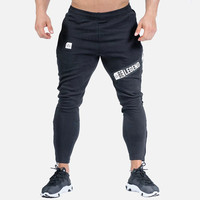 New Arrival Autumn mens Sweatpants Joggers Casual cotton Pants Men fitness Workout Bodybuilding sportswear gyms Trousers Pants