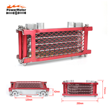 Motorcycle Oil Cooling Cooler Chinese Made Radiator Oil Cooler Set For 50cc 70cc 90cc 110cc 125cc 140cc Horizontal Engine