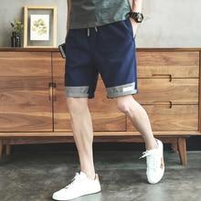 Regular Mens Cargo Shorts Pants Casual Summer Fashion Chinese Style Youthful Vitality Spodenki Do Biegania Gym Shorts BD50CS