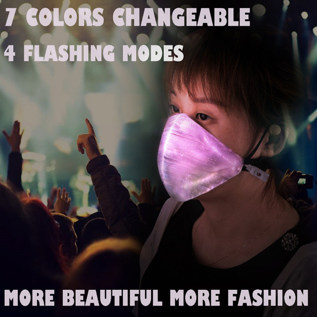 EDM Flashing LED Mask  1