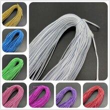 10 yardas 2mm cuerda de alambre de oro Vintage rústico boda decoración fiesta regalo caja decoración para manualidades DIY la fabricación de la joyería