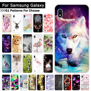 Voor Samsung Galaxy A10 A20 A30 A40 A50 A70 Telefoon Cover Animal Cartoon Soft Silicone TPU Gevallen Back Telefoon Covers coque Fundas