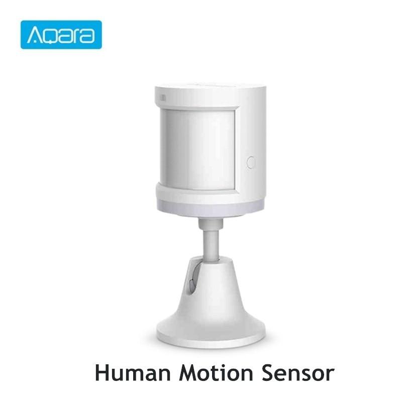 Aqara Human Body Sensor Smart Movement Motion Sensor With Holder Stand ZigBee Wireless Connection Works With Mi Home App