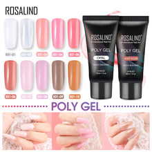 ROSALIND Poly Gel Vernis UV LED Builder Gel 30ML Nail Polish Set Voor Nagel Uitbreiding Ontwerp Manicure Poly Primer nail Art(China)