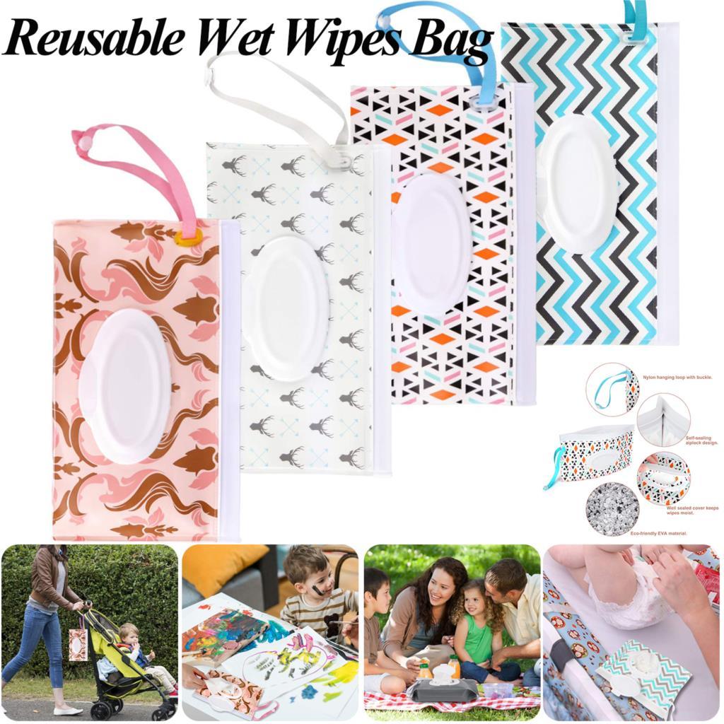 Kids Wipe Box Wet Wipes Bag Wet Paper Towel Box