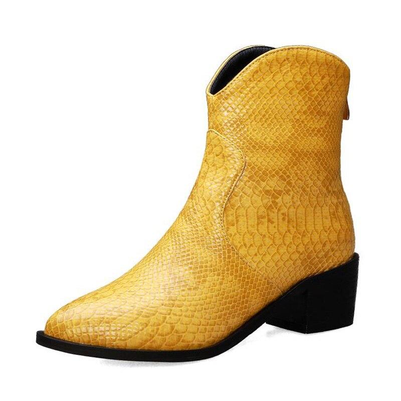 Купить fanyuan/пикантные полусапожки на шнурках с острым носком женские
