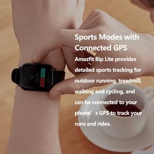 Image 3 - Huami Global Version Amazfit Bip Lite Smart Watch with 45 Days Standby GPS  Lightweight smartwatch