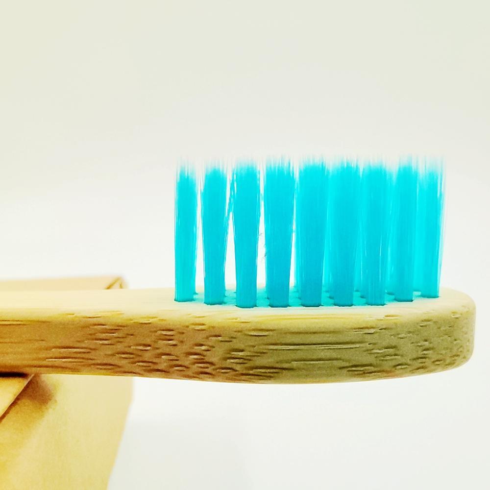 Natural Bamboo Toothbrush Set  7