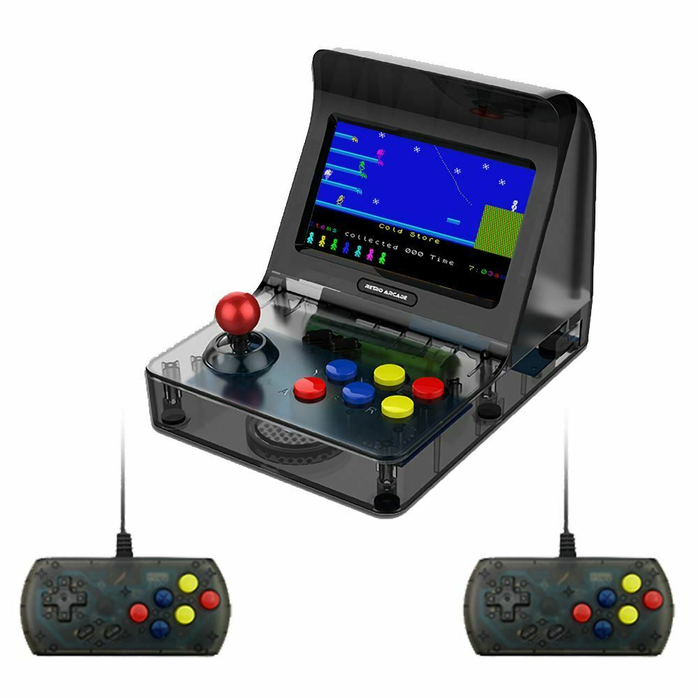 """Coolbaby RS-07 4.3"""" LCD Video Game Player 16GB Handheld Retro Arcade Double Game Console TF Card for Built-3000 Different games"""
