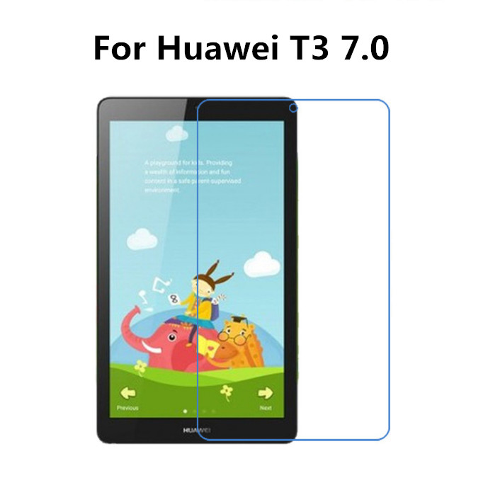 Clear Glossy Foil Screen Protector Protective Film For Huawei Mediapad T3 7.0 BG2-W09 7