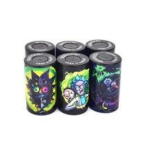 Hermético stash jar multi-uso vácuo selo recipiente de armazenamento portátil caixa de pílula caixa de tabaco tubo de fumo para mantê-lo fresco