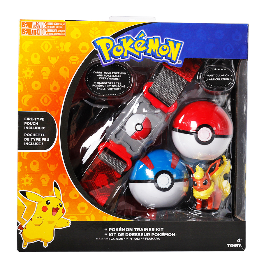 Pokemones Ball figure With Belt and Pop-up Action Figure Model Toys Retractable Belt Gifts Kids Toys in box 4