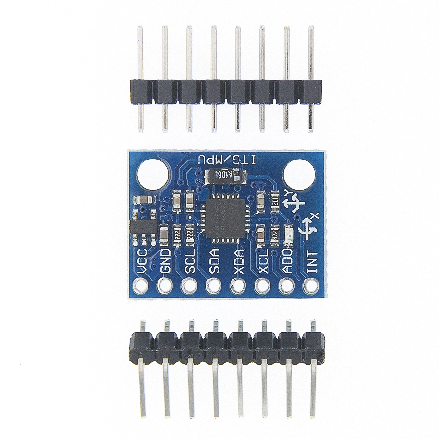 100PCS/LOT GY 521, MPU 6050 Module ,mpu6050 module ,3 Axis analog gyro sensors+ 3 Axis Accelerometer Module MPU6050-in Integrated Circuits from Electronic Components & Supplies
