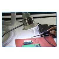 TBK smoke 30W Anti Static Solder Smoking Absorber ESD Fume Extractor iPhone Repair Welding Tool soldering iron smoke evacuator