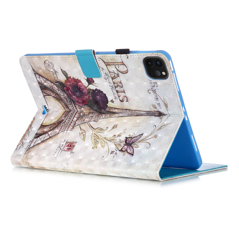 2020 Painted Case Pro Cover IPad Case 11 for Fashion Leather for Stand Case PU IPad 2018