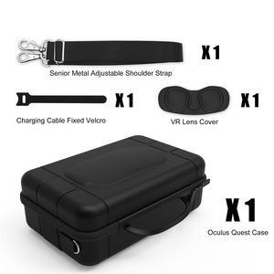 Image 3 - Large Capacity Travel Carrying Case for Oculus Quest VR Gaming Headset Touch Controllers Accessories Waterproof Storage Bag
