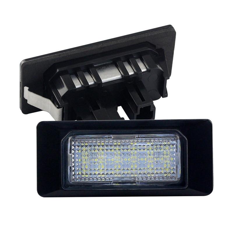1 пара светодиодный светильник для номерного знака автомобиля подходит для GOLF6/MK6 для TOURAN для A1/A6/A7/TT