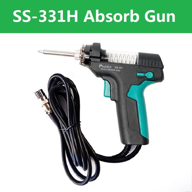 Desoldering Absorb Gun Electric Station SS-331H Tin Gun Suction Tin Pump Accesso