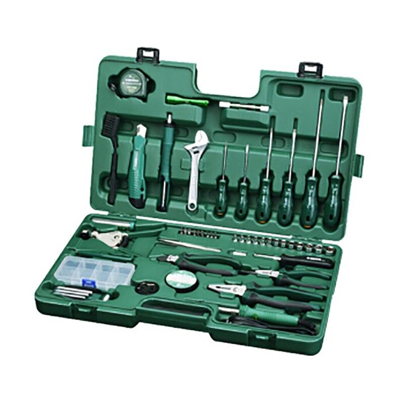 For Tool (set) 56пр. Combo (household) Plast. case 09536 sata 04110 for tool set 19пр combo vehicle gen case
