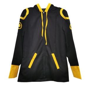 Disfraz de Cosplay de mensajero místico nuevo de Anime de 707, disfraz de Saeyoung Luciel Choi, disfraz de Halloween, chaqueta con capucha, sudadera, sudadera, camiseta
