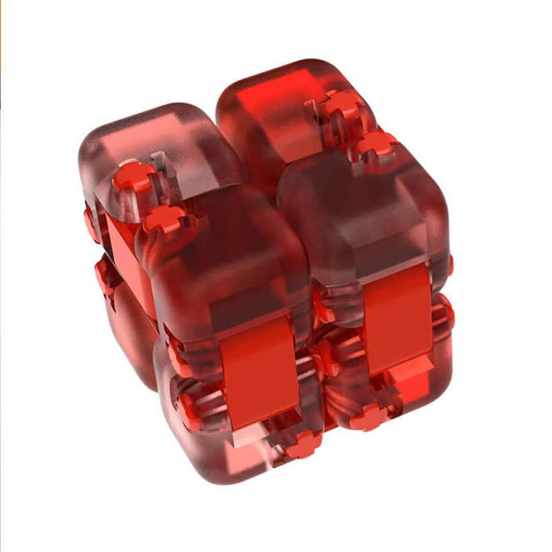 Nieuwe Xiaomi Mijia Mitu Spinner Kleurrijke Bouwstenen Vinger Fidget Decompressie Speelgoed Puzzel Assembleren Cube Vinger Spinner Speelgoed