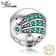 JewelryPalace Star 925 Sterling Silver Beads Charms Original For Bracelet original Jewelry Making