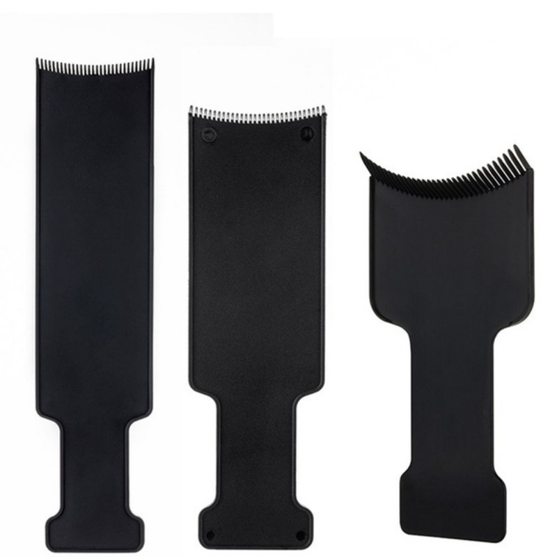 Professional Salon Hairdressing Hair Applicator Brush Dispensing Salon Hair Coloring Dyeing Pick Color Board Hair Styling Tool 2