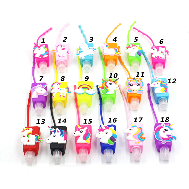 10pcs Silicone Mini Hand Sanitizer Travel Portable Safe Gel Holder Disposable No Clean Soap Dispenser Hand Gel Holder For Kids